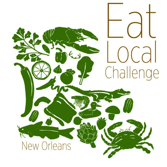 2013 Eat Local Challenge Tshirt Design