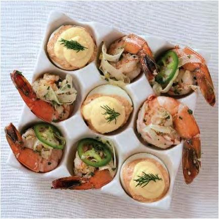deviled shrimp