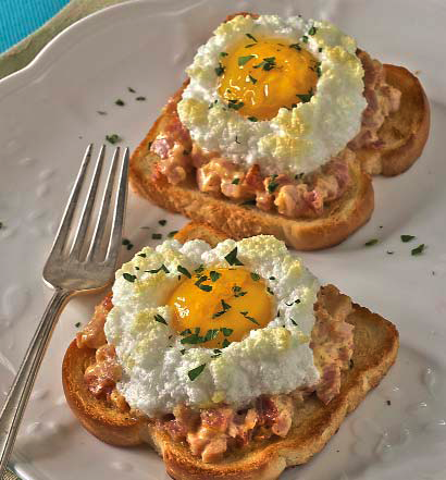 puffed eggs