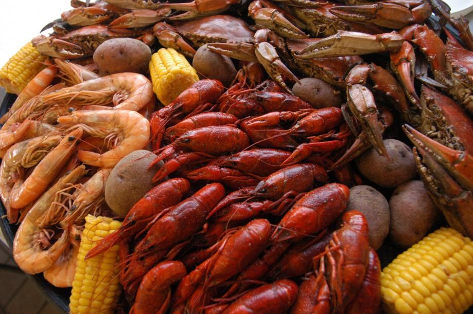 Seafood Cornbread
