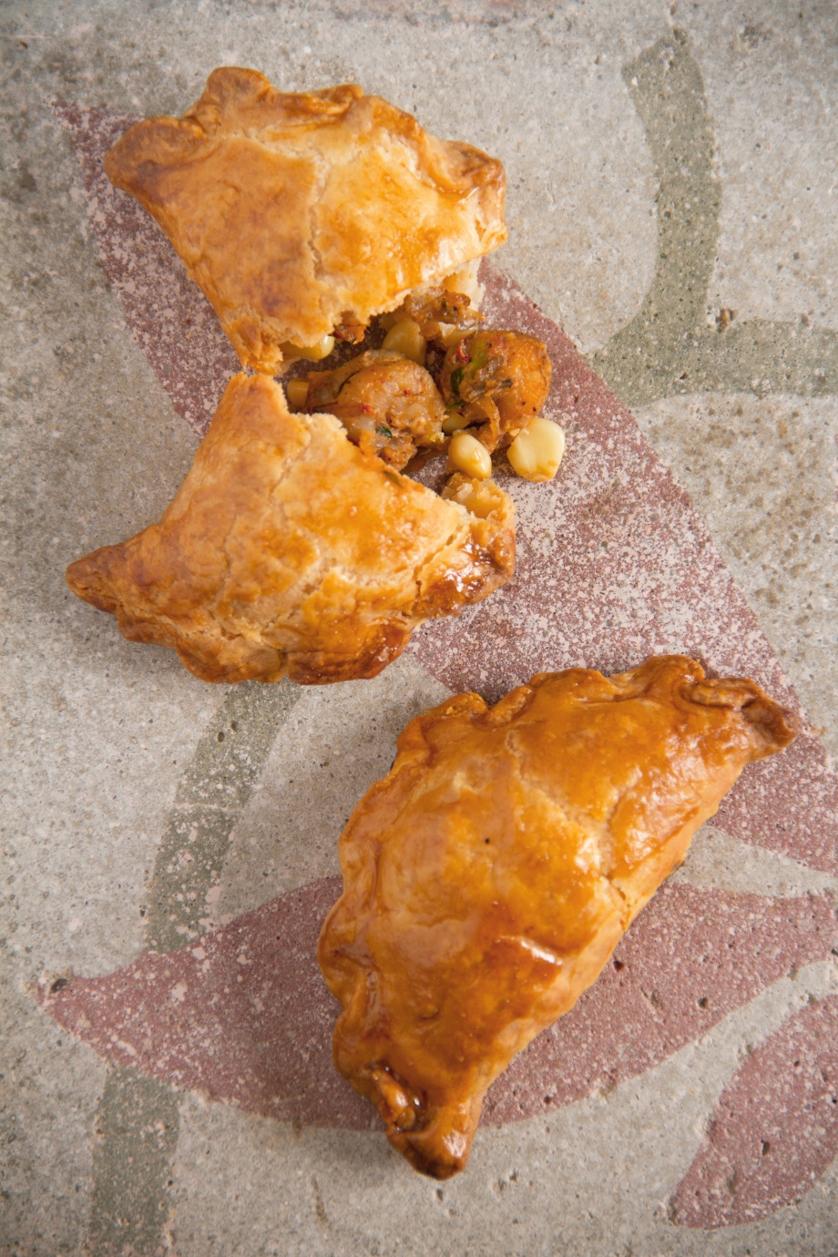 Crawfish and Corn Turnovers!