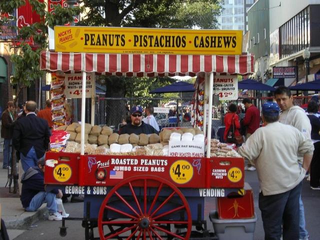 Fenway Park Peanut Stand. Photo by Mark Sardella, via Flickr