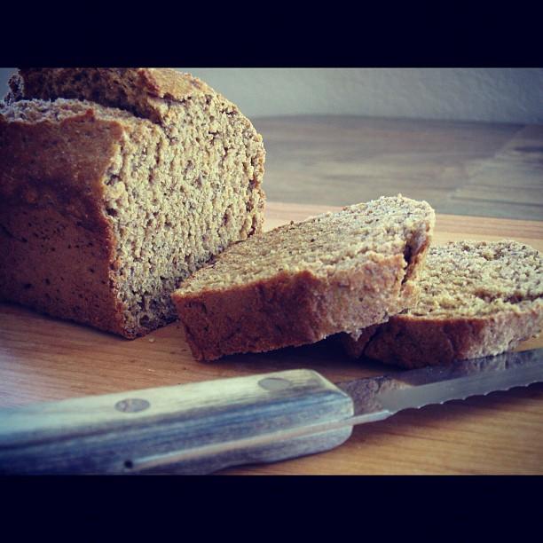 Sliced Spelt Bread. Photo by Sharon Ona.