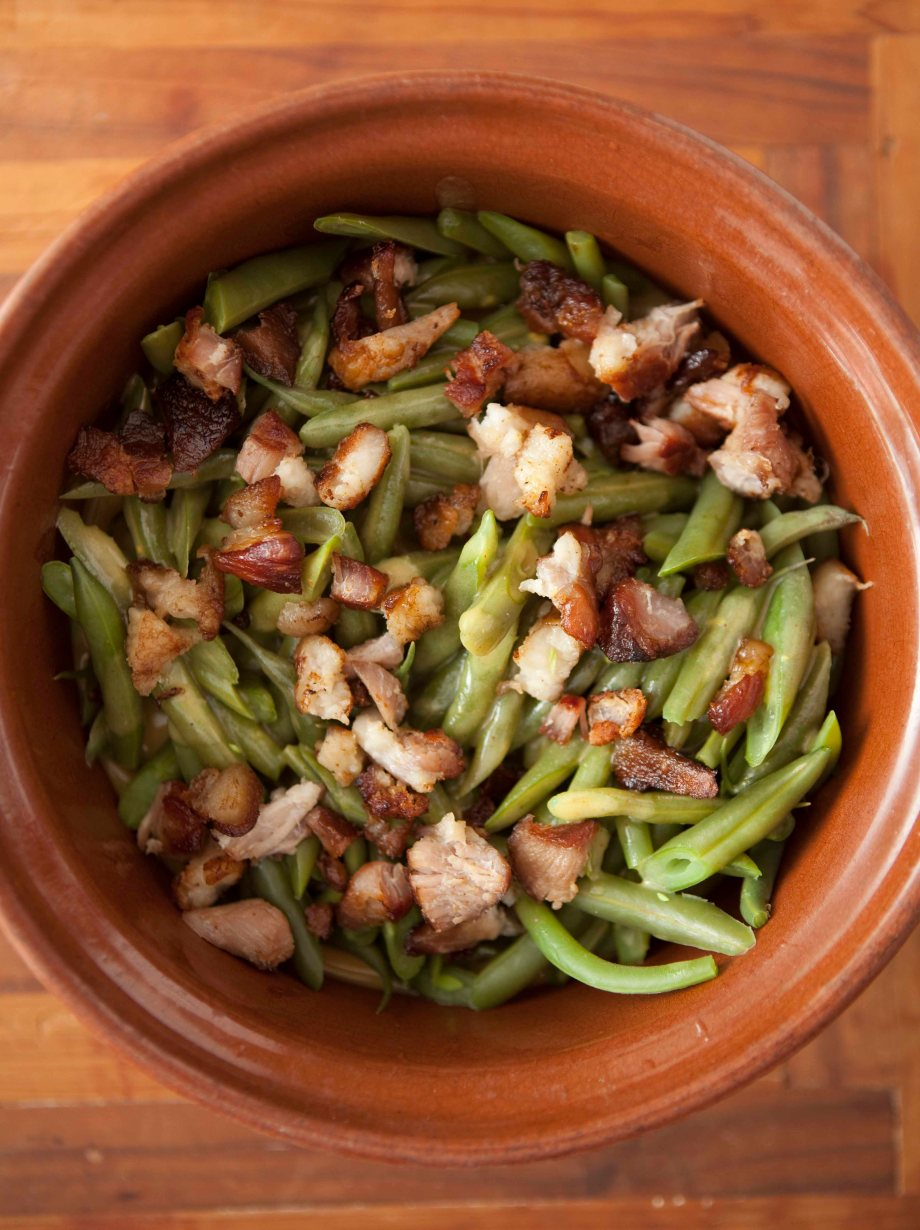 Vintage Kitchen: Monticello String Beans with French Dressing