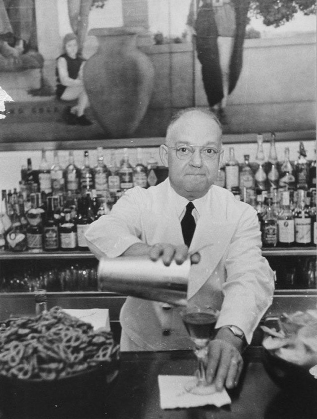 Fernand Petiot of Harry's Bar (Formerly the New York Bar)