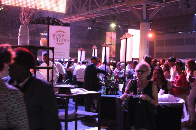 The New Orleans Wine and Food Experience celebrated its 21st year in May 2013.