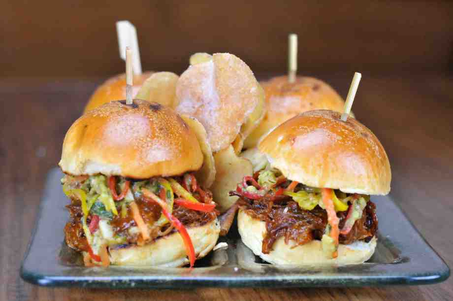 Jägermeister BBQ Pulled Pork Sliders