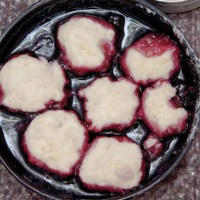 Cajun Blackberry Dumplings