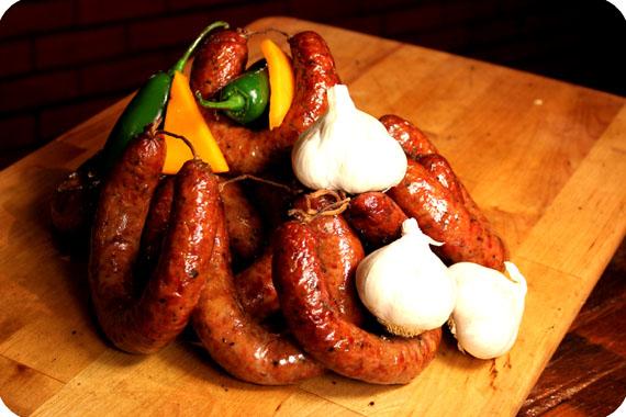 Sausage at Black's. Photo courtesy Black's