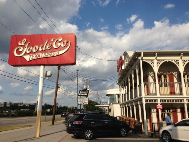 Goode Company BBQ's Katy Freeway location in Houston Texas. Photo by Jim Carter.