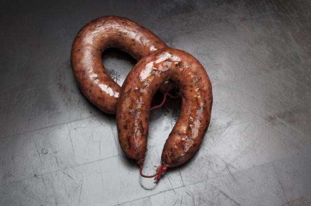 The sausage at Kreuz Market