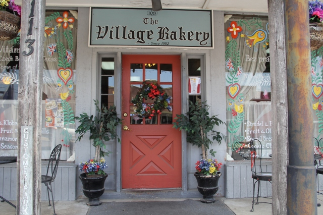 The Village Bakery in West, Texas. Photo via Flickr from Terry Feuerborn .