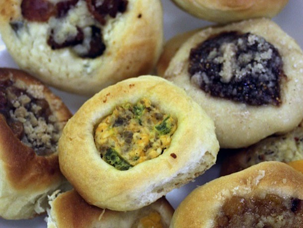 "A ""mixbag"" of kolaches. Photo by Stef Shapiro."