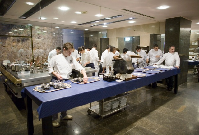 elBulli kitchen. Photo by Gereon Wetzel