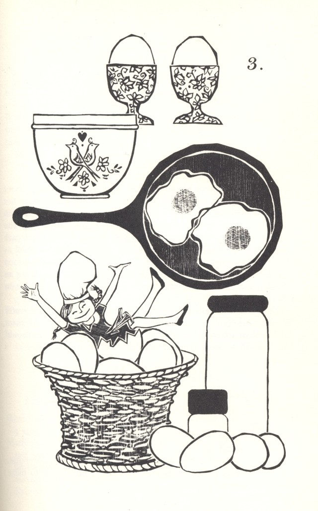 Illustration by Rosalie Petrash Schmidt, 1968
