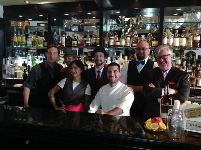 The seven finalists. (left to right) Chris Stanley, Rachel Sergi, Natalie Jacob, Joseph Donohue, Ulysses Vidal, Andrew Johnston, James Menite