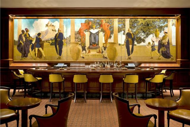 The King Cole Bar at the St. Regis, New York.