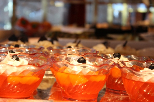 The buffet on Princess Cruises has something for everyone, from the interesting to the mundane.