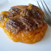 The LA to L.A. Chef: Sweet Potato Puree with Pecan Praline Topping