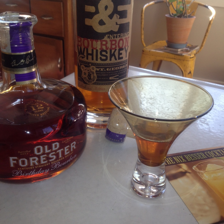 On Whiskey: Breaking and Entering from St. George and Old Forester Birthday Bourbon