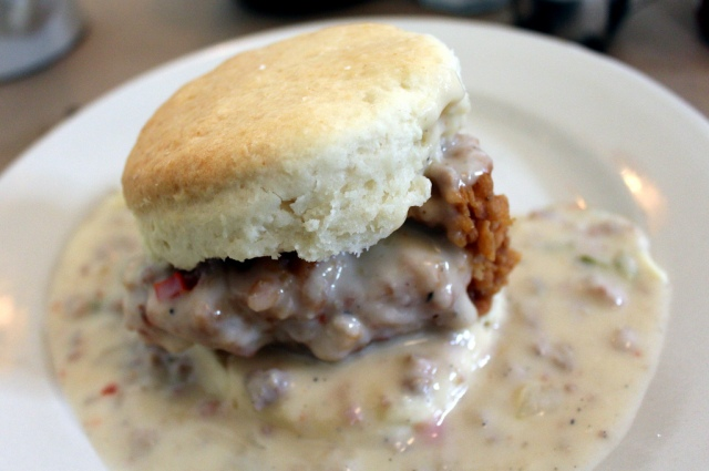 The Big Nasty Biscuit at Hominy Grill in Charleston, Sc. Photo by Wally Gobetz , via Flickr