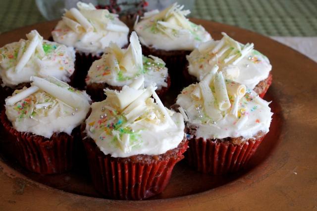 Apple Nut Cupcakes