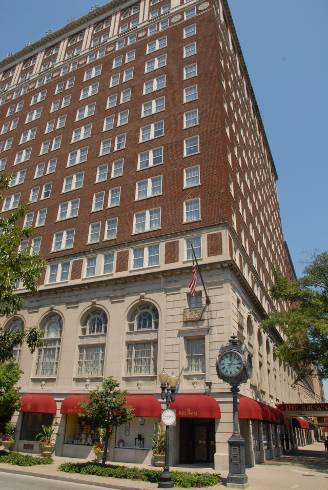 The Brown Hotel is in Louisville, Kentucky. Photo by Fred Sauceman